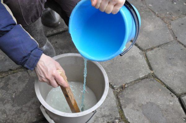 Diluarea soluției de sulfat de cupru